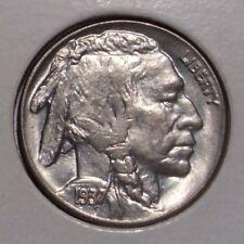 1937 Buffalo Nickel , Select BU