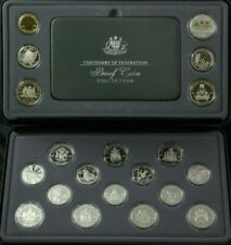 2001 CENTENARY OF FEDERATION - PROOF COIN COLLECTION - 20 COIN SET IN CASE