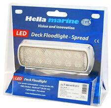 Hella Marine LED Deck Floodlight, Spread - Marine, Boat, RV, Yacht - 980670311