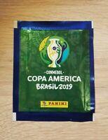 Panini Copa America 2019 1 Tüte Bustina Pochette Sobres Pack Brasil 19 Conmebol