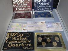 2004 50 State Quarter Uncirculated P & D Mint & Gold Edition Commemorative Set