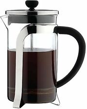 Grunwerg Cafe Ole Mode 3 cup/350ml Chrome Plated Glass Coffee Cafetiere KM-03C