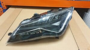 Seat Leon 5F UK Spec RHD Headlamp Headlight Full LED LEFT Passenger 5F2941007K