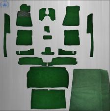 Ensemble de Moquettes pour Mercedes R107 SL 17 TEILIG similicuir vert