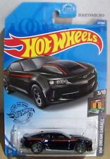 HOT WHEELS DREAM GARAGE '18 COPO CAMARO SS IN BLACK #3/10