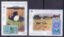 Uruguay 2006 MNH 2v, Bees, Flowers, Birds, Ostrich, 50 yrs Europa, CEPT