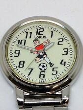 Lorus Nurse Football Fob Watch Very Rare