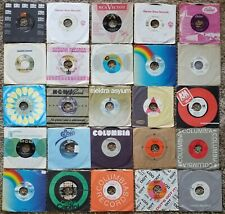 ROCK AND ROLL POP LARGE LOT #1 45 RPM ORG SLEEVES Dylan Hagar Peppers Roth Elvis