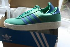 Adidas Originals Trimm Trab - Bold Green / Blue  U.K. 10.5 BNIBWT