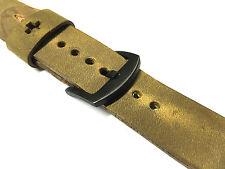 Qualité Fait À La Main Bracelet De Montre En Cuir Marron Pour Apple Série 2 42mm