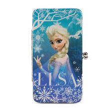 Disney Frozen Elsa Snowflakes Hinge Wallet