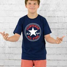 Converse Chuck Patch Kinder T-Shirt Kids navy All Star TShirt Childs Youth's