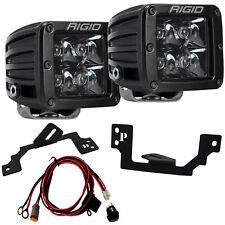 RIGID LED Fog Light Kit with Midnight Black Lights for Dodge Ram 1500 2500 3500