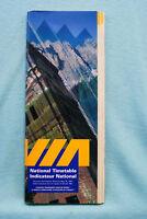 VIA - National Time Table - 5/27/97
