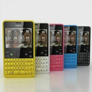 Nokia Asha 210 - dual sim Unlock Mobile Phone Facebook Qwerty phone / FULL PACK
