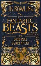 Fantastic Beasts And Where To Find Them Original Screenplay NEW Hardback Book HB