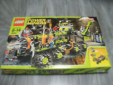 Lego #8964 Power Miners Titanium Command Rig New & Sealed  706 pieces!