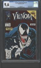 Venom Lethal Protector #1 CGC 9.6 W First Appearance in Own Title!