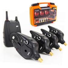 Fox NOUVEAU Micron MR + ICOM Remote Rouge Alarme détecteur morsure présentation