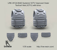 Live Resin LRE35124 1/35 BAE Systems' IOTV Improved Outer Tactical Vest w/Torso