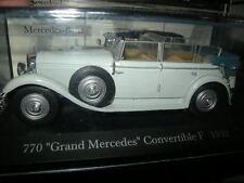 1:43 Ixo Mercedes Benz 770 Cabrio 1932 grau/grey in OVP