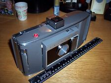 VINTAGE MODEL J66 POLAROID ELECTRIC EYE LAND CAMERA WITH LEATHER CASE