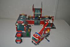 LEGO CITY 7945 LA CASERNE DES POMPIERS COMPLET - ANNEE 2007