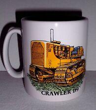 BN Caterpillar Crawler D9 Stoneware Mug,  Construction and Plant 1/2 pint mug