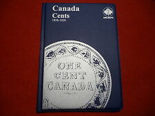 UNI-SAFE  CANADIAN   LARGE  CENTS  FOLDER  ALBUM    (1858 - 1920 )  (#10)