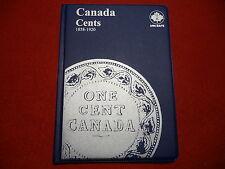 UNI-SAFE  CANADIAN   LARGE  CENTS  FOLDER  ALBUM    (1858 - 1920 )  (#3)