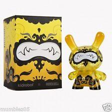 "Kidrobot Dunny Lemon Drop 3"" Andrew Bell SEALED NEW 2014 Vinyl Plastic Toy Fig"