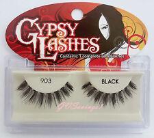 NIB~ GYPSY #903 FALSE EYELASHES Fake Lashes Black Falsies Strip