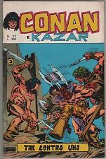 CONAN E KAZAR corno 27 TRE CONTRO UNO kull the destroyer lui it! living colossus