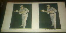 ORIGINAL 1925 Yale Baseball Player Stereo Veiw Card