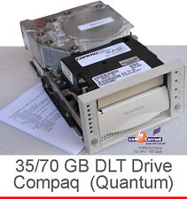 COMPAQ DLT INTERNAL SCSI STREAMER 35/70GB DLT7000 70-60370-22 DRIVE + 1 DLT TAPE