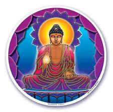 Mandala Arts Window Sticker Double Sided: Buddha Light 11.7cm