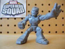 Marvel Super Hero Squad RARE TEST SHOT Gray Blank IRON MAN Mark II Armor