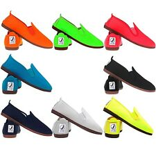 NEW  WOMEN'S LADIES  JAVER FLOSSY FLAT SHOES
