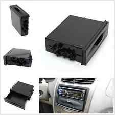 Universal Car Auto Single Layer Din Radio Pocket Drawer Kit Holder Storage Drawe