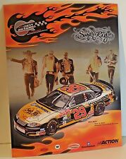 Kevin Harvick 2003 Action #29 Chevy Rock n Roll Sugar Ray Handout Card NEW