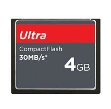 4GB CF CompactFlash Card Ultra 30MB/S,SDCFH-004G Brand New Genuine