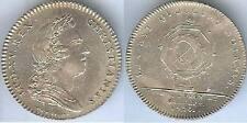 Jeton notaires - Coners du roy et notaires 1720 n° 304 LEROUGE silver 9 grammes