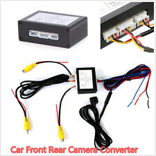 Car Front/Rear Parking View Camera Video 2 Channel Control Box Converter Kits