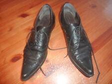Poivre de Cayenne 41 DERBIES homme noir Chaussures mocassins shoes ville cuir