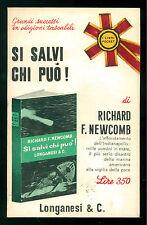 NEWCOMB RICHARD B. SI SALVI CHI PUO'! LONGANESI 1966 I LIBRI POCKET 39 MARINA