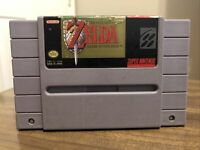 The Legend of Zelda: A Link to the Past SNES Nintendo Cartridge Pins Cleaned