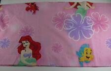 "Disney The Little Mermaid Pink Valance Curtain 82x16"" Ariel"