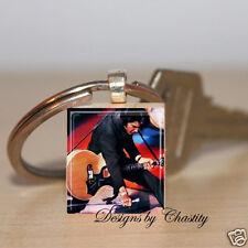 Elvis Presley Keychain Scrabble The King Of Rock N Roll Music Lover Guitar Art