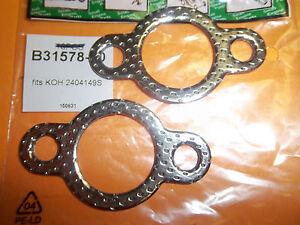 NEW BBT EXHAUST GASKET FITS KOHLER 24-041-49-S 31578  2 PACK