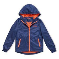 Boys Navy and Orange Shell Jacket